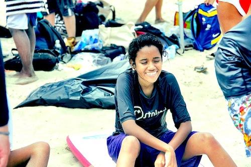 Jazmin Smiling